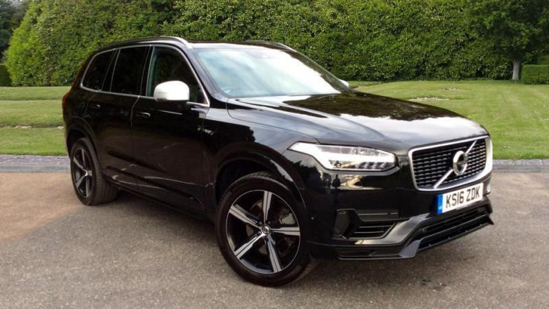 2017 volvo xc90 2 0 t8 hybrid r design 5dr aut automatic petrol electric estate in horley. Black Bedroom Furniture Sets. Home Design Ideas