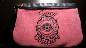 Authentic Juicy Couture purse handbag and wristlet