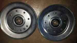 Idler pulley V belt. - pair for $40