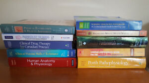Used Nursing Textbooks for Sale! Excellent Condition!