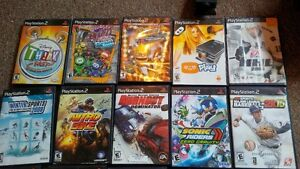 PS2, Wii, DS & Xbox 360 Video games