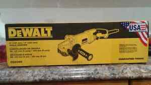 Dewalt angle grinder/new sealed in box