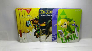 Legend of Zelda Breath of the Wild Amiibo Tags/Cards (Champions!