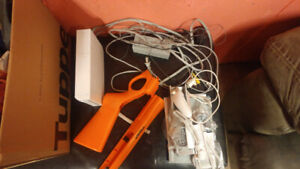 Nintendo wii with acessories