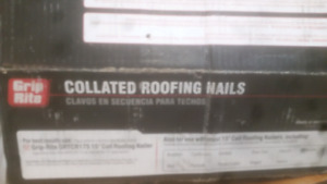 Collated roofing nails