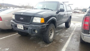 2003 ford ranger, 5 spd, 4x4