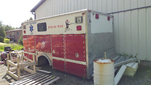 Fire rescue box ( perfect for work truck setup)