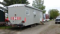 10x28 trailer  full equip, propane and electric ,