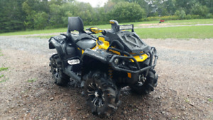 2014 Can am Outlander XMR 10000