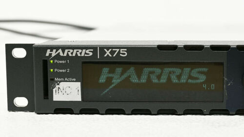 Leitch Harris X75 X75HD-AV-2PS Up/Down/Cross Converter Frame Sync TT SNMP HDCON