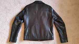 Black Danier Leather Jacket (Men's Small) Sarnia Sarnia Area image 2