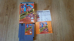 Nintendo NES Games - All for $70 - Mario Bros/Donkey Kong