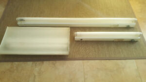 "Fluorescent Light Fixtures 24"", 48"""