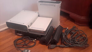 Xbox 360 HD DVD Player and 3 Consoles