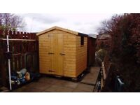 SALE: 6ft x 6ft Wooden Garden Shed