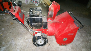 Brigs and Stratton snowblower for sale