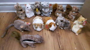 Many More Ty Beanie Baby Collectible Bears and Animals