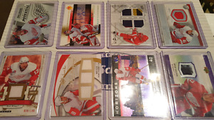 DETROIT RED WINGS HOCKEY CARDS