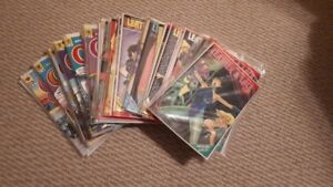 Leather & Lace + Cherry adult comic lot x 34 80's-90's  LOOK