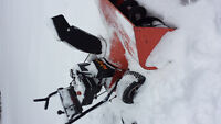 10hp 32 inch cut snow blower not working