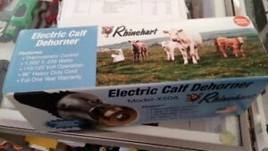 Electric calf/goat dehorner  Rhinehart model x50a