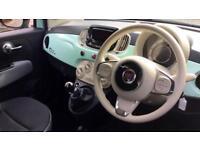 2018 Fiat 500 1.2 Pop 3dr Manual Petrol Hatchback