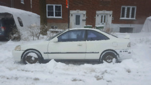 1999 Honda civic si b18 swap 4 disc brake no rust
