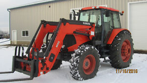 M135X Kubota for sale Strathcona County Edmonton Area image 3