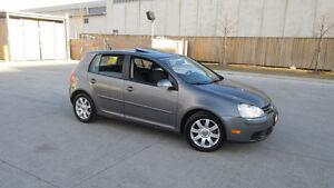 2008 VW Golf,  4 Door, Sunroof, Certified, 3/Y warranty availabl