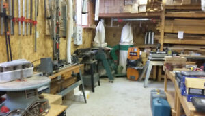 ENTIRE WOODWORKING SHOP as ONE PURCHASE