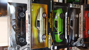 1/18 diecast shelby Mustangs