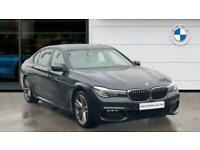 2018 BMW 7 Series 740Ld xDrive M Sport 4dr Auto Diesel Saloon Saloon Diesel Auto
