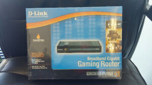 D- Link Gaming Router DGL-4100  Never opened!