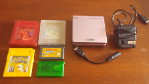 Gameboy advance SP and games