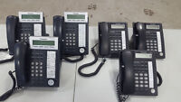 Set of 6 Panasonic Office Phones