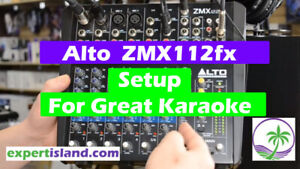 ALTO ZMX122FX 8-Channel Compact Audio Mixer with Effects