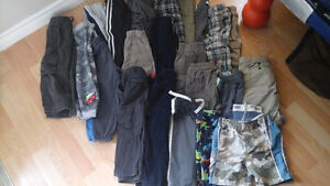 Boys 2T and 3T pant, shorts and swim suit lot