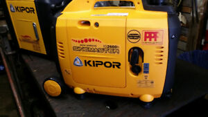 2 Kipor IG2600 inverter generators & parallel kit 5200 WATTS!!