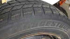 205 65 16 Winter Tires and Rims!