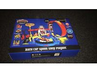 Race speed shop playset