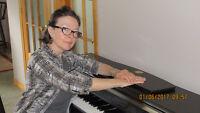 COUR DE PIANO ET CHANT - PIANO AND VOICE LESSONS