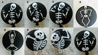 (Skeletons~X ray Technician~Retractable ID/Name Badge Holder Reel)