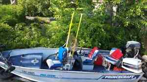 16' princecraft great fishing boat