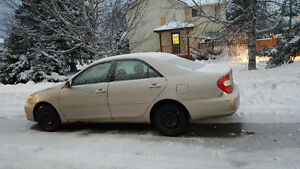 2002 Toyota Camry Sedan Swap or trades welcome