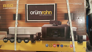 Axion projector and OrumRohn surround sound . Brand new