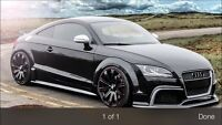 Audi TT 8J GTRS Bodykit by Regula Tuning German