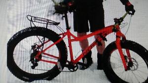Stolen!  Orange fat bike