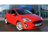 2017 Ford Fiesta TITANIUM ** Factory Fitted Rear Parking Sensors ** Manual Hatch