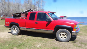 1995 chevy 1500 4x4 for sale or trade!