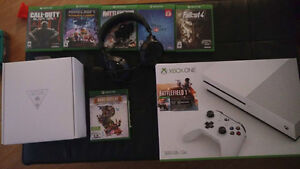 Looking to trade my xbox one S for your old video games!!!